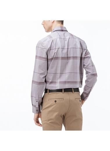 Lacoste Erkek Regular Gömlek CH1903.03R Bordo